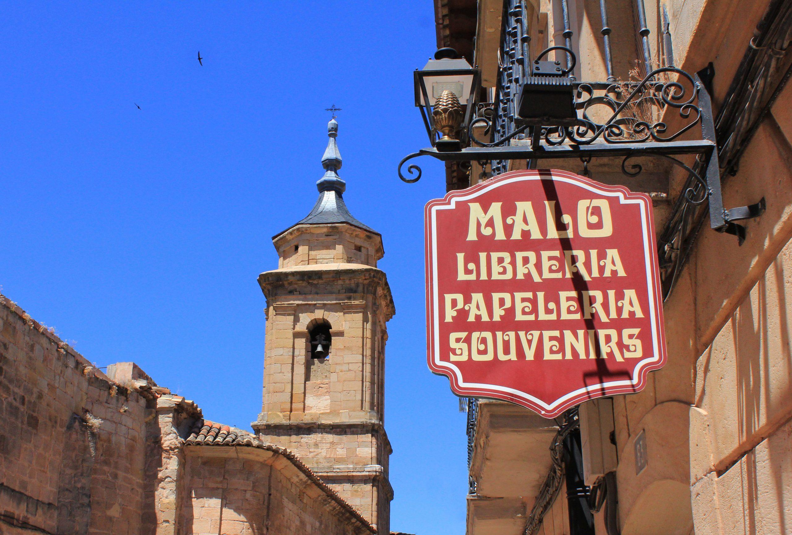 Librería Malo Molina de Aragón